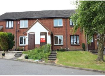 Thumbnail 1 bed town house for sale in 19 Quelch Close, Hugglescote, Coalville, Leicestershire