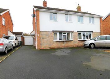 Thumbnail 3 bed semi-detached house for sale in Croydon Drive, Penkridge, Stafford