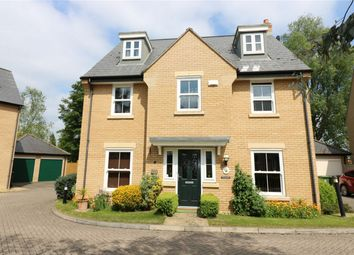 Thumbnail 5 bed detached house for sale in Penwald Court, Peakirk, Peterborough, Cambridgeshire