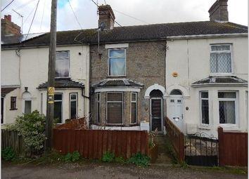 Thumbnail 2 bed terraced house for sale in London Road, Gisleham, Lowestoft