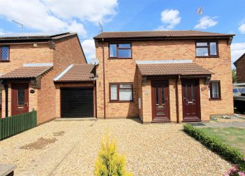 Thumbnail 2 bed semi-detached house for sale in Drybread Road, Whittlesey, Peterborough