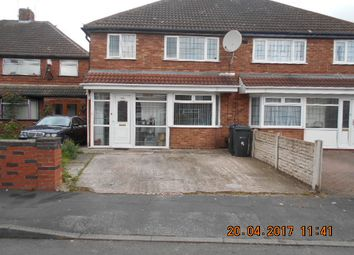 Thumbnail 3 bedroom semi-detached house for sale in Withdean Close, Sparkbrook