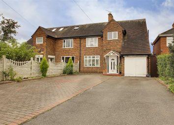 Thumbnail 3 bed semi-detached house for sale in Dalemoor Gardens, Aspley, Nottingham