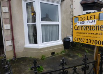 Thumbnail 2 bed flat to rent in Barn Road, Carmarthen