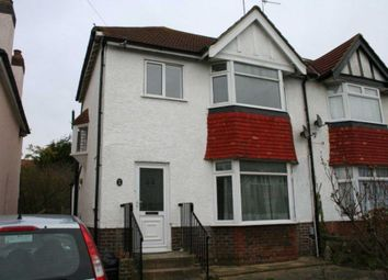 Thumbnail 3 bed semi-detached house to rent in Elm Drive, Hove