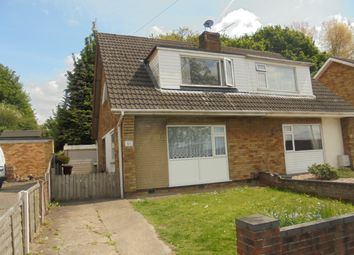 Thumbnail 3 bed semi-detached bungalow to rent in Sherburn Crescent, Scunthorpe