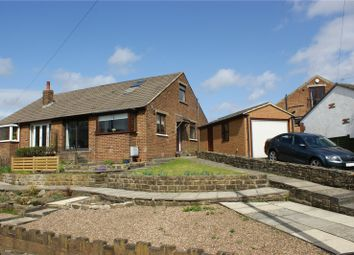 Thumbnail 2 bed semi-detached bungalow for sale in Chapel Road, Bingley, West Yorkshire