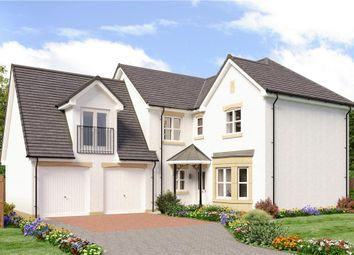 "Thumbnail 4 bedroom detached house for sale in ""Teviot 3"" at Auchinleck Road, Robroyston, Glasgow"
