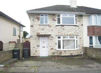 Thumbnail 3 bedroom semi-detached house to rent in Beauchamp Avenue, Bridgemary, Gosport