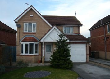 Thumbnail 4 bed detached house for sale in Darwin Close, Waddington, Lincoln