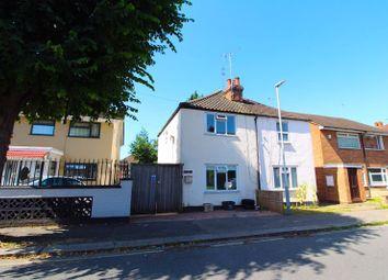 Thumbnail 2 bed semi-detached house for sale in Dordans Road, Leagrave, Luton