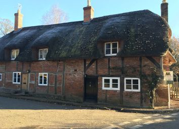 Thumbnail 2 bed terraced house to rent in Hunton Down Lane, Hunton, Sutton Scotney, Winchester