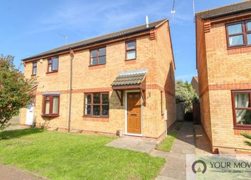 Thumbnail 3 bed semi-detached house for sale in Castle Green, Gorleston, Great Yarmouth