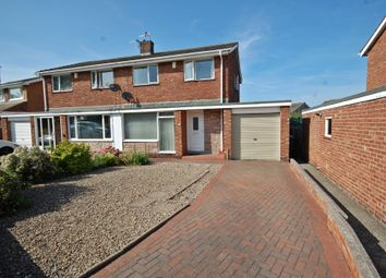 Thumbnail 3 bed semi-detached house for sale in Lumley Road, Newton Hall, Durham