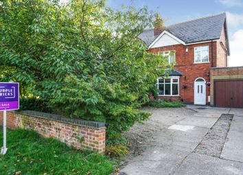 Thumbnail 4 bed semi-detached house for sale in Station Road, Derby