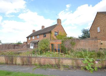 Thumbnail 3 bed semi-detached house for sale in Boughton Road, Moulton, Northampton