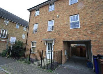 Thumbnail 4 bed end terrace house to rent in Caspian Way, Purfleet