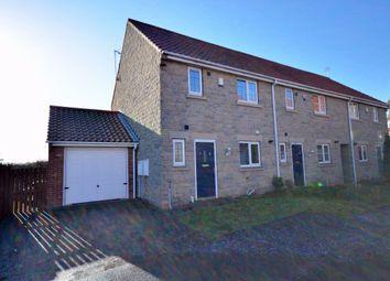 Thumbnail 2 bed town house to rent in Hall Garth Mews, Sherburn In Elmet, Leeds