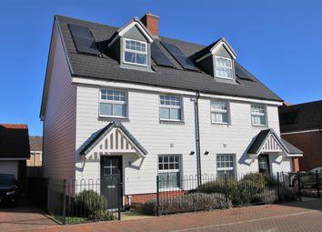 The Bartons, Staplehurst, Tonbridge TN12. 3 bed semi-detached house for sale