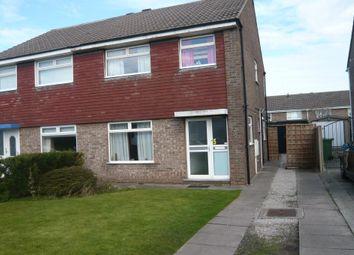 Thumbnail 3 bed semi-detached house to rent in Bolton Avenue, Poulton Le Fylde