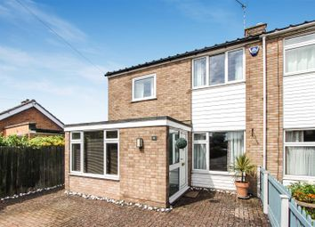 Thumbnail 3 bed semi-detached house for sale in Pinfold Lane, Godmanchester, Huntingdon