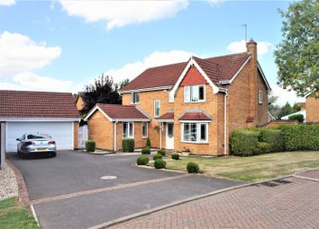 Thumbnail 4 bed detached house for sale in Barn Way, Markfield