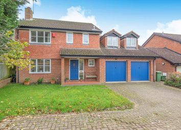 Thumbnail 5 bedroom detached house for sale in Wiggett Grove, Binfield