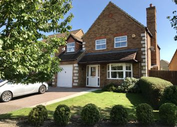Thumbnail 4 bed detached house for sale in Curlew Crescent, Royston