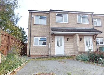 Thumbnail 3 bed semi-detached house for sale in Gunthorpe Road, Peterborough, Cambridgeshire.