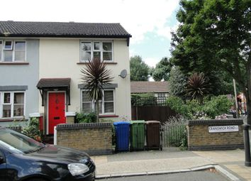 Thumbnail 2 bed end terrace house to rent in Cranswick Road, London