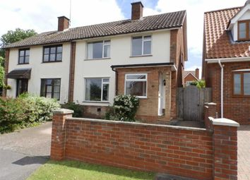 Thumbnail 3 bed semi-detached house for sale in Keightley Way, Tuddenham St Martin, Suffolk