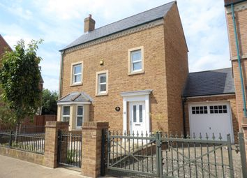 Thumbnail 3 bed detached house for sale in Frogden Road, East Wichelstowe, Swindon