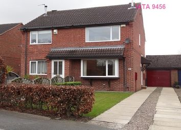 Thumbnail 2 bed semi-detached house to rent in Plane Tree Avenue, Leeds