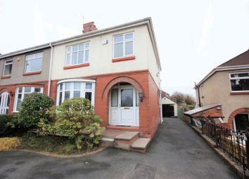 Thumbnail 3 bed semi-detached house for sale in 25 Halls Road, Stoke-On-Trent