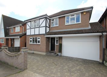 Thumbnail 4 bed detached house for sale in Elmhurst Avenue, Benfleet