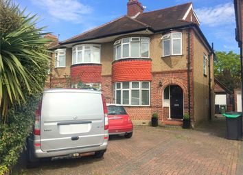 Thumbnail 4 bed semi-detached house for sale in Meadowview Road, West Ewell, Epsom