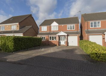 Thumbnail 4 bed detached house for sale in Renolds Close, Coventry