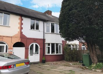 Thumbnail 3 bedroom terraced house for sale in Harborough Road, Oadby, Leicester