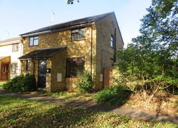 Thumbnail 2 bed semi-detached house to rent in Swale Avenue, Peterborough