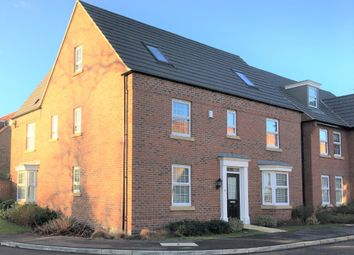 Thumbnail 5 bed detached house to rent in Stratten Park, Greylees, Sleaford