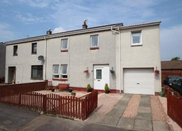 Thumbnail 4 bed semi-detached house for sale in Broomage Crescent, Larbert, Stirlingshire