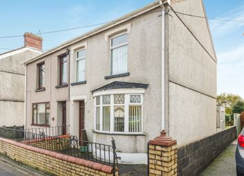 Thumbnail 3 bed semi-detached house for sale in Loughor Road, Gorseinon, Swansea