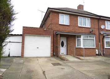 Thumbnail 3 bedroom semi-detached house for sale in Hawthorn Road, Dogsthorpe, Peterborough
