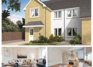 Thumbnail 3 bed semi-detached house for sale in Poplar Avenue, Bridge Of Earn