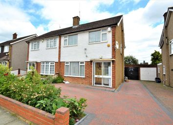 Thumbnail 3 bed semi-detached house for sale in Wannock Gardens, Ilford