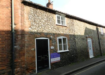 Thumbnail 1 bedroom terraced house for sale in Swan Street, Fakenham