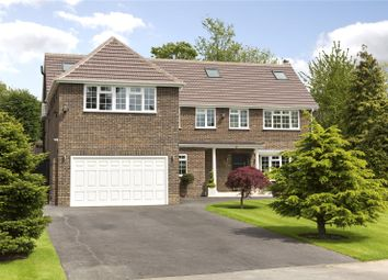 Thumbnail 5 bed detached house for sale in Pine Walk, Cobham, Surrey