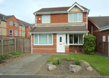 Thumbnail 3 bed detached house for sale in Telford Close, Hartlepool
