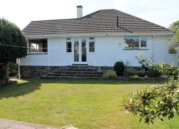 Thumbnail 3 bed detached bungalow for sale in Church Road, Wembury, Plymouth