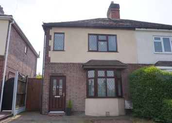 Thumbnail 3 bed semi-detached house for sale in Glascote Road, Glascote, Tamworth